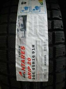 205/55 R16 ANTARES GRIP 20 WINTER TIRES *BRAND NEW*