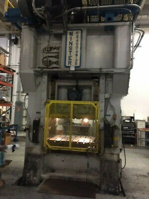 400 Ton Minster Straight Side Press Model E2 Hevistamper 6 Stroke Sansonnw