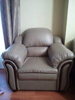 $50 bonded leather chair