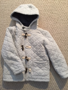 Toddler Boy's 4-5T Padded Toggle-Coat