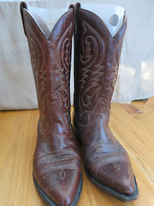 Leather Cow-Girl Boots