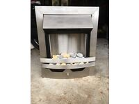 Inset Stainless Steel convector fire