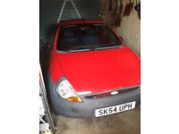 Ford Ka - Red 54 Plate