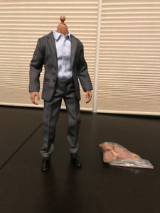 Figure Asian Body Type & Toys City Grey Suit
