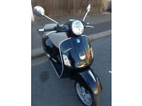 2006 Piaggio Vespa GTS 250 gts250 in Black great condition + Upgraded Exhaust not 300