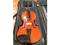 Stentor Student Violin with case, bow and sheet music £70