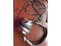 Sony MDR-NC7 Headband Headphones - Silver/Black