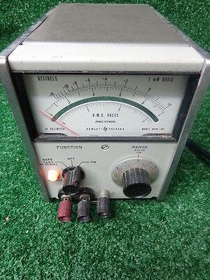 Hp Vintage Hewlett Packard 403b Decibel Ac Voltmeter Test Equipment Free Ship