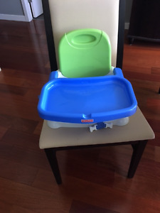 Fisher Price Booster Seat and Tray