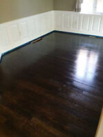 RENEW, RESTAIN, REFRESH YOUR OLD HARDWOOD FLOORS