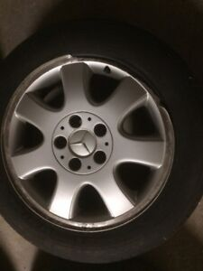 4 TIRES MERCEDES BENZ CLK320