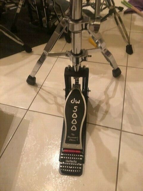 DW CP5500TD Hi Hat Stand - 2 Leg - Great Condition - Used - Shorter Rod
