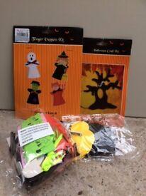 2 Halloween craft kits