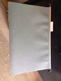 Green Foolscap Suspension Files with Plastic Headers