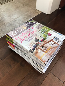 House & Home magazines
