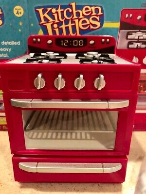 NIB KITCHEN LITTLES PINK STOVE - barbie size, VHTF - LAST ONE