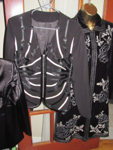 Lot of Women Fall Boutique Slim Jacket Top Size M/L