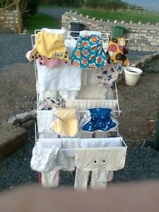 Liner + FREE NAPPY ADVICE washable reusable nappies terry squares cloth nappies