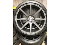 ispiri isr8 alloys 19'' to suit merc volkswagen audi etc 5 x 112 fitment