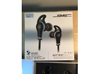 SMS Audio Wired In-Ear Sport Headphones - Sweat and Water Resistant