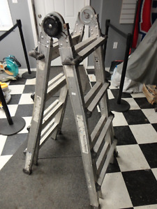 Cosco Folding Extendable 8' Ladder