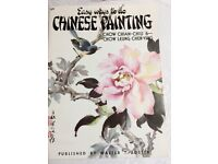 Chinese Artists Illustrated Drawing Guide, Assorted Brushes and Paints