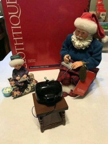Possible Dreams Santa Video-ho-ho 713759 video game santa In Box! Clothtique