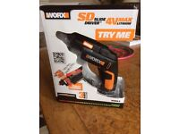 Brand New Worx SD Slide Driver Powered by 4V Lithium Battery . New , Unused in Box