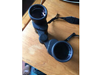 Charles Frank 8 x 42 binoculars, with case