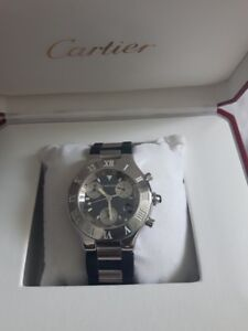 Authentic Cartier Chronoscaph 21 Men watch
