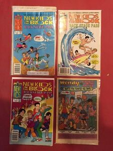 New Kids on the Block comic books West Island Greater Montréal image 2