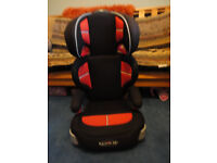 The Graco Junior Maxi Group 2-3 Car Seat with Cup Holders