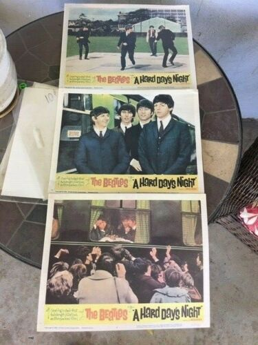 "3 BEATLES ""A HARD DAY"