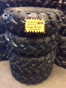 """KIMPEX 25"""" TRAIL FIGHTER TIRE PKG -4 TIRES $349.99 at ORPS Parts"""