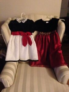 15 Girls Christmas/formal dresses, from size 2  to 16!