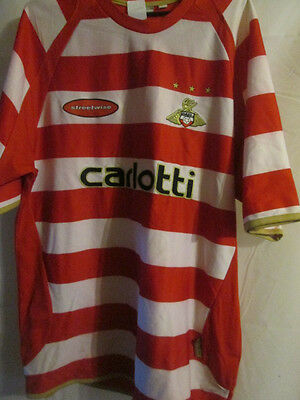 2006-2007 Doncaster Rovers Home Football Shirt Size Large  /15027 image