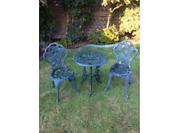 Garden/Patio Table & 4 Chairs