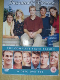 Dawsons Creek 6 Disc DVD Box Set Complete 6th Season