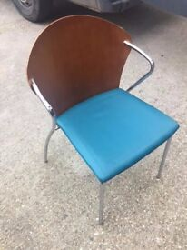 Chairs - Stackable with metal legs - 50 Available