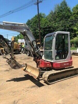 Excavator Takeuchi Tb153fr Whammer 2 Buckets