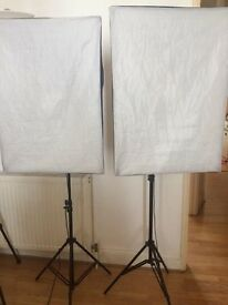 LIGHTING EQUIPMENT FOR SALE, Two lights perfect for filming and photography