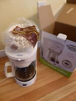 Brand new, in box, never used Koffee Maker by Traditions