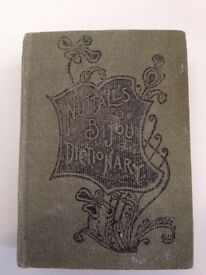 Mini *Nuttall's Bijou Dictionary of the English Language* - FE Warne c.1890-1900