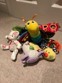 Lamaze Freddie the Firefly and friends bundle