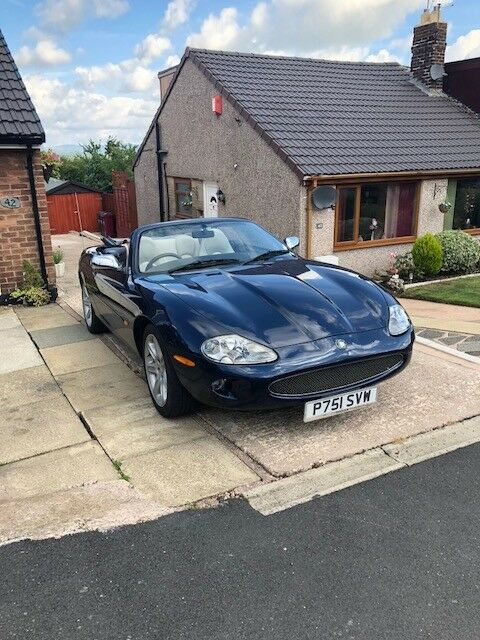 jaguar xk manual conversion