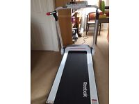 Reebok Treadmill Model: RVIT-10121WH. nearly new. Excellent condition