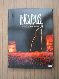 Incubus - Alive at Red Rocks DVD+CD 2004 America Rock Music