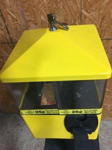 Lock and Key for U-turn Gumball Candy Bulk Vending Machines U Turn Eliminator