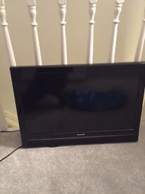 Hitachi 26inch TV with DVD