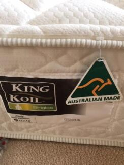 Two SINGLE size King Koil bed mattresses for sale